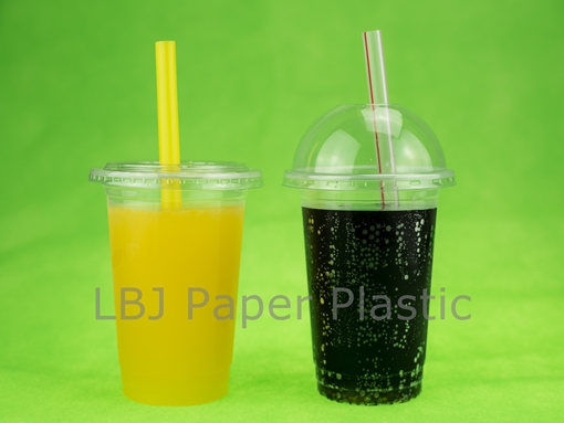 490ml Plastic Cup Bubble Tea Cup Coffee Cup Printed